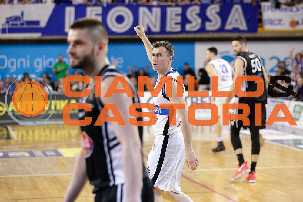Franko Bushati<br /> Germani Basket Brescia Leonessa - Pasta Reggia Juve Caserta<br /> Lega Basket Serie A 2016/2017<br /> Montichiari, 02/04/2017<br /> Foto Ciamillo-Castoria / M. Brondi