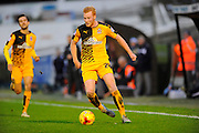 Cambridge Utd's Conor Newton during the Sky Bet League 2 match between Plymouth Argyle and Cambridge United at Home Park, Plymouth, England on 12 December 2015. Photo by Graham Hunt.