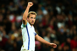 Harry Kane of England celebrates scoring the winning goal to make it 1-0 - Mandatory by-line: Robbie Stephenson/JMP - 05/10/2017 - FOOTBALL - Wembley Stadium - London, United Kingdom - England v Slovenia - World Cup qualifier