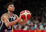 FIBA World Cup Basketball 2019 China. Czech Republic vs Greece . FIBA World Cup 2019 Basketball Shenzhen.