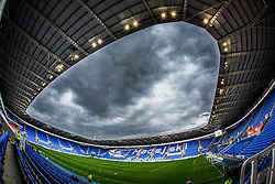 Stormy clouds over Madejski Stadium - Mandatory by-line: Jason Brown/JMP - Mobile 07966 386802 15/09/2015 - SPORT - FOOTBALL - Reading, Madejski Stadium - Reading v Derby County - Sky Bet Championship