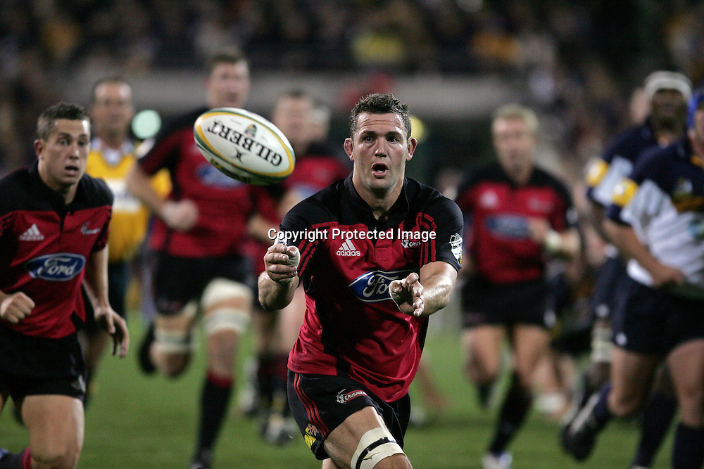 22 May, 2004. Super 12 Final, Canberra Stadium, Canberra ACT, Australia.<br /> Reuben Thorne.<br /> The Brumbies defeated the Crusaders  48-37<br /> Please credit: Andrew Cornaga/Photosport