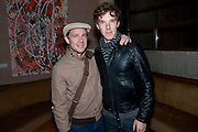 MARTIN FREEMAN; BENEDICT CUMBERBATCH, Party after the European premiere of Creation  at the Curzon Mayfair. Party at 17 Berkeley St. London.  13 September 2009.