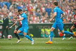 14-05-2017 NED: Kampioenswedstrijd Feyenoord - Heracles Almelo, Rotterdam<br /> In een uitverkochte Kuip pakt Feyenoord met een 3-0 overwinning het landskampioenschap / Karim El Ahmadi #8