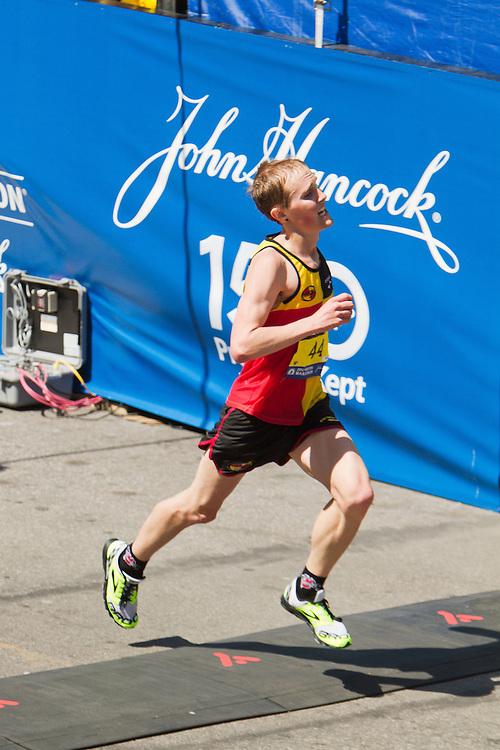 Brendan Martin, MI, crosses finish line in 13th place