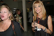 KAY SAATCHI AND MYRTO CUTLER, Meeting of Minds in aid of the Parkinson's Appeal for Deep Brain Stimulation at Christie's. Party afterwards at St. John restaurant. 16 October 2007.  -DO NOT ARCHIVE-© Copyright Photograph by Dafydd Jones. 248 Clapham Rd. London SW9 0PZ. Tel 0207 820 0771. www.dafjones.com.