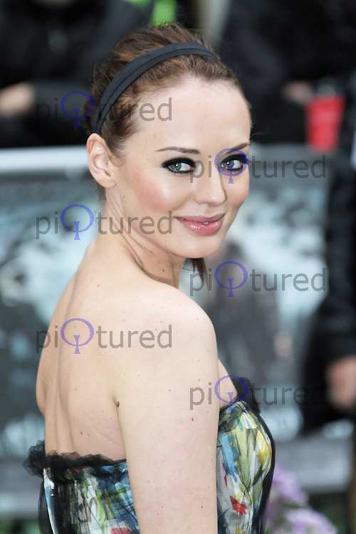 LONDON - MAY 14: Laura Haddock attends the World Film Premiere of 'Snow White And The Huntsman' at the Empire Cinema, Leicester Square, London, UK. May 14, 2012. (Photo by Richard Goldschmidt)