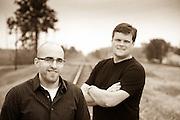 Kevin Ronnebaum, Thoroughbrand Principal, designer, chief creative, Kevin Mignogno Thoroughbrand graphic designer