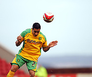 London - Saturday, January 12th, 2008: Jon Otsemobor of Norwich City during the Coca Cola Champrionship match at Oakwell, Barnsley. (Pic by Paul Hollands/Focus Images)