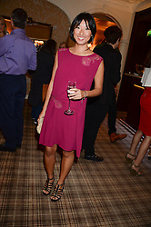 BEATRIX ONG at the Blue Monday Cheese Launch presented by Alex James and held at The Cadogan Hotel, Sloane street, London on 11th June 2013.