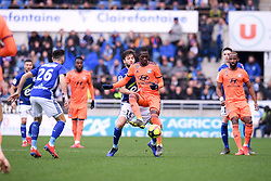 March 9, 2019 - Strasbourg, France - 24 PAPE CHEIKH DIOP (OL) - 14 SANJIN PRCIC  (Credit Image: © Panoramic via ZUMA Press)