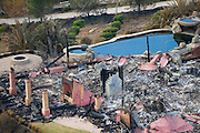 Aerial and Ground views of the Harris and Rancho Bernardo Fire destruction aftermath.
