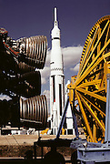 Alabama Space and Rocket Center in Huntsville, Alabama. [1977]