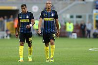 Milano - 28.08.16  -  Serie A  2016/17 - 2a giornata   -  Inter-Palermo   - nella foto:  Joao Miranda e Jeison Murillo - Inter