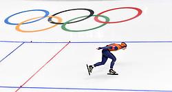 12-02-2018 SCHAATSEN: OLYMPISCHE SPELEN: OLYMPIC GAMES: PYEONGCHANG 2018<br /> Olympisch goud voor Ireen Wust (JustLease.nl) op de 1500 metert<br /> <br /> Foto: Soenar Chamid