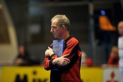 27-03-2011 VOLLEYBAL: TVC AMSTELVEEN - HEUTINK POLLUX: AMSTELVEEN <br /> Halve finale playoffs eredivisie 2010 - 2011 / Coach Jan Berendsen<br /> ©2011 Ronald Hoogendoorn Photography