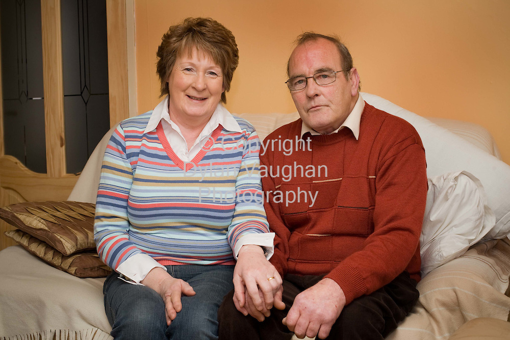 20/3/2008.Joe Dawson pictured at his home near Kilmanagh County Kilkenny..Picture Dylan Vaughan.