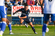 Leeds United midfielder Jamie Shackleton (8) in action during the Pre-Season Friendly match between Guiseley  and Leeds United at Nethermoor Park, Guiseley, United Kingdom on 11 July 2019.