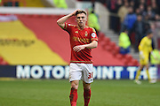 Nottingham Forest midfielder Ben Osborn during the Sky Bet Championship match between Nottingham Forest and Bristol City at the City Ground, Nottingham, England on 27 February 2016. Photo by Jon Hobley.