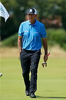 Golf - 2019 Senior Open Championship at Royal Lytham & St Annes - First Round <br /> <br /> Tom Lehman (USA) walks onto the 1st green.<br /> <br /> COLORSPORT/ALAN MARTIN
