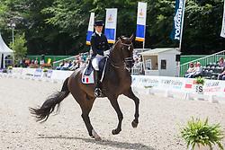 Barbancon Mestre Morgan, ESP, Sir Donnerhall II Old<br /> CHIO Rotterdam 2018<br /> © Hippo Foto - Sharon Vandeput<br /> 23/06/18