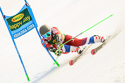 March 9, 2019 - Kranjska Gora, Kranjska Gora, Slovenia - Aleksander Andrienko of Russia in action during Audi FIS Ski World Cup Vitranc on March 8, 2019 in Kranjska Gora, Slovenia. (Credit Image: © Rok Rakun/Pacific Press via ZUMA Wire)
