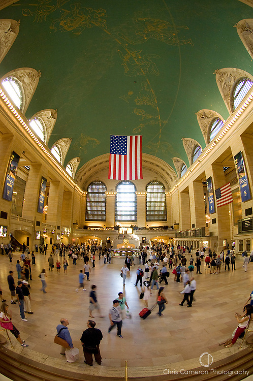 Main concourse, Grand Central Station, Manhattan, New York City.