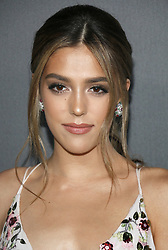 Sistine Stallone at the Art Of Elysium's 11th Annual Heaven Celebration held at the Barker Hangar in Santa Monica, USA on January 6, 2018.
