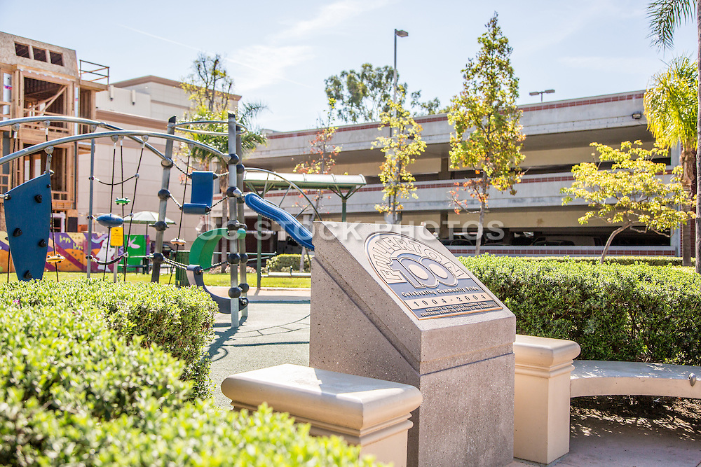 Fullerton Downtown Plaza and Park
