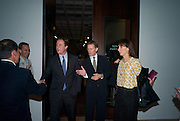 CURATOR: ACHIM BORCHARDT-HUME, DAVID CAMERON; SIR NICHOLAS SEROTA; SAMANTHA CAMERON; Mark Rothko private view. Tate Modern. 24 September 2008 *** Local Caption *** -DO NOT ARCHIVE-© Copyright Photograph by Dafydd Jones. 248 Clapham Rd. London SW9 0PZ. Tel 0207 820 0771. www.dafjones.com.