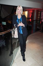 ANNEKA RICE at the Costa Book Awards 2009 held at Quaglino's, 16 Bury Street, London SW1 on 26th January 2010.