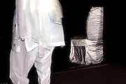 White on white - India fashion week, Autumn- winter collections, New Delhi, April 2006