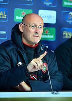 Bernard LAPORTE - 01.05.2015 - Conference de presse Toulon avant la finale - European Rugby Champions Cup -Twickenham -Londres<br /> Photo : David Winter / Icon Sport