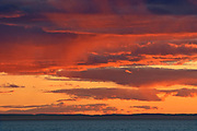 Sunset over the Gulf of St. Lawrence<br />Rimouski<br />Quebec<br />Canada
