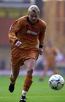 Photo: Greig Cowie.<br /> 08/08/2003.<br /> Pre-Season Football Friendly. Wolverhampton Wanderers v Boavista.<br /> Steffen Iversen