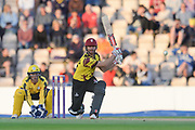 James Hildreth of Somerset batting during the NatWest T20 Blast South Group match between Hampshire County Cricket Club and Somerset County Cricket Club at the Ageas Bowl, Southampton, United Kingdom on 18 August 2017. Photo by Dave Vokes.