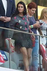 May 12, 2018 - Warsaw, Poland - Tennist Agnieszka Radwanska of Poland is seen during 1st round of Speedway World Championships Grand Prix Poland in Warsaw, Poland, on 12 May 2018. (Credit Image: © Foto Olimpik/NurPhoto via ZUMA Press)