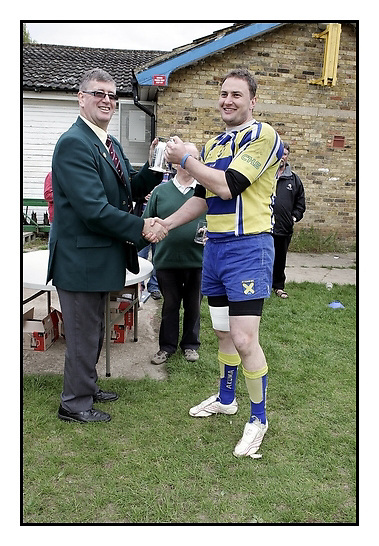 Hertfordshire RFU President's Tankard Final. Hitchin RFC v St Albans RFC..01-05-2010