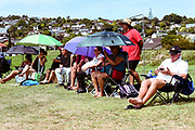 NZ supporters.<br /> NZ v Australia, BCO U15 Championship. Lloyd Elsmore Park, Pakuranga, Auckland, New Zealand. 20 January 2018. &copy; Copyright Image: Marc Shannon / www.photosport.nz.