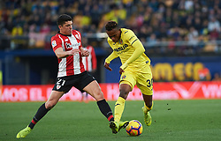 January 20, 2019 - Villarreal, Castellon, Spain - Samu Chukwueze of Villarreal and Ander Capa of Athletic Club de Bilbao during the La Liga Santander match between Villarreal and Athletic Club de Bilbao at La Ceramica Stadium on Jenuary 20, 2019 in Vila-real, Spain. (Credit Image: © Maria Jose Segovia/NurPhoto via ZUMA Press)