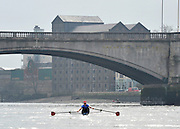 Putney, GREAT BRITAIN,  during the  2010  Varsity/Cambridge University  vs CZE National M8+, raced over the championship course. [reversed] Chiswick to Putney,  Wednesday,  24/03/2010 . [Mandatory Credit, Peter Spurrier/Intersport-images]