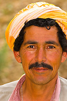 Tunisian man at the oasis of Chebika, in the Sahara Desert, Tunisia