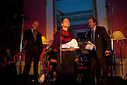 CHARLES DANCE; ALISON SAMUEL; ALEXANDER WAUGH, The 2009 Literary Review Bad sex in Fiction award. In and Out Club. St. James's Sq. London. 30 November 2009