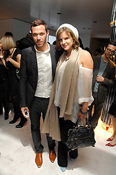 Singer WILL YOUNG and KATE SUMNER daughter of singer Sting at a party hosted by PPQ of Mayfair at the Fiat Flagship Store, 105 Wigmore Street, London W1 on 11th February 2008.<br />