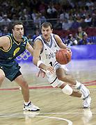 Giochi Olimpici Sydney 2000<br /> Italia-Australia<br /> Nella foto: Alessandro Abbio<br /> Foto Ciamillo