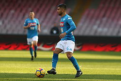 January 28, 2018 - Naples, Italy - LORENZO INSIGNE (SSC Napoli).., during the Serie A match between SSC Napoli and FC Bologna at Stadio S. Paolo on January 28, 2018 in Naples, Italy  (Credit Image: © Paolo Manzo/NurPhoto via ZUMA Press)
