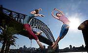 Brazilian twins Vitor and Guilherme Menezes from the English National Ballet. The company will perform excerpts from its exclusive Sydney-only Australian season in Sydney 2012