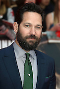 April 26, 2016 - Paul Rudd attending 'Captain America: Civil War' European Film Premiere at Vue Westfield in London, UK.<br /> ©Exclusivepix Media
