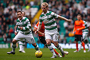 Celtic FC Midfielder Gary MacKay-Stevens on the attack during the Ladbrokes Scottish Premiership match between Celtic and Dundee United at Celtic Park, Glasgow, Scotland on 25 October 2015. Photo by Craig McAllister.