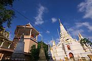 Phnom Penh, Cambodia. Wat Botum.